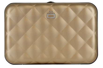 Ögon Quilted Button Rose Gold