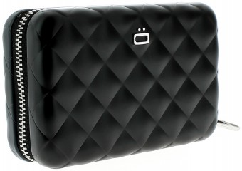 Ögon Quilted Zipper Black